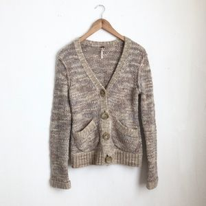 Free people sweater buttoned down cardigan sz:XS